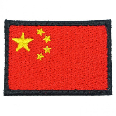 China Flag (Mini) - Black Border - Hock Gift Shop | Army Online Store in Singapore
