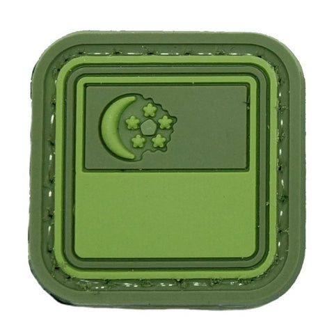 MINI PVC SINGAPORE FLAG - OLIVE GREEN - Hock Gift Shop | Army Online Store in Singapore