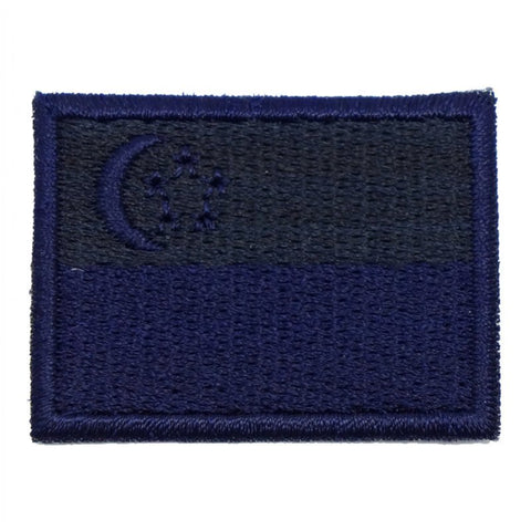 SINGAPORE FLAG - DARK OPS (MINI) - Hock Gift Shop | Army Online Store in Singapore