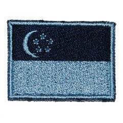 SINGAPORE FLAG - NAVY BLUE (MINI) - Hock Gift Shop | Army Online Store in Singapore