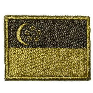 SINGAPORE FLAG - OLIVE GREEN (MINI) - Hock Gift Shop | Army Online Store in Singapore