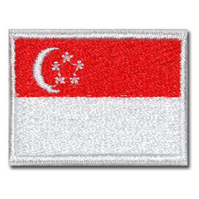 SINGAPORE FLAG - FULL COLOR (MINI) - Hock Gift Shop | Army Online Store in Singapore