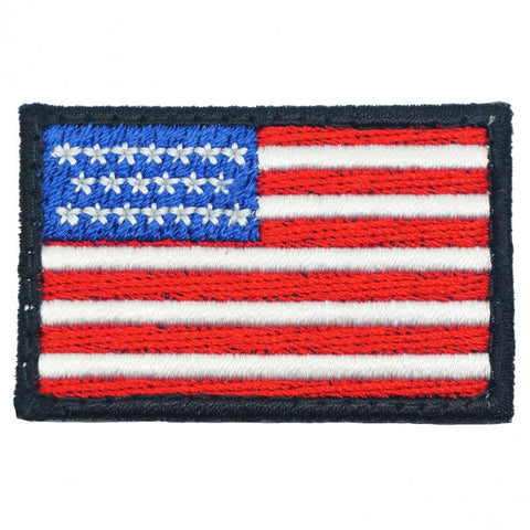 USA Flag (Mini) - Black Border