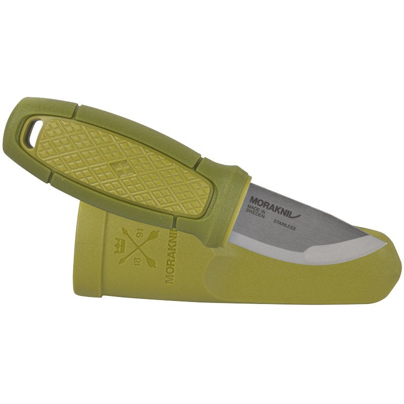 MORAKNIV ELDRIS NECK KNIFE - STAINLESS STEEL - GREEN (12633) - Hock Gift Shop | Army Online Store in Singapore