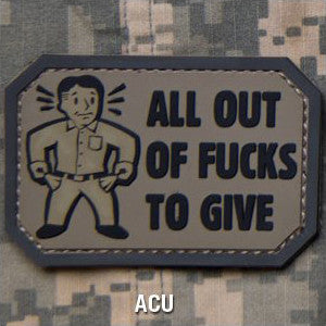 MSM ALL OUT PVC - ACU - Hock Gift Shop | Army Online Store in Singapore