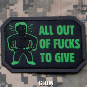 MSM ALL OUT PVC - GLOW IN THE DARK - Hock Gift Shop | Army Online Store in Singapore