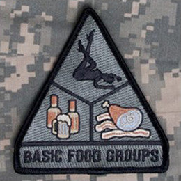 MSM BASIC FOOD GROUPS - ACU DARK - Hock Gift Shop | Army Online Store in Singapore