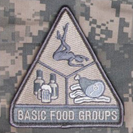 MSM BASIC FOOD GROUPS - ACU LIGHT - Hock Gift Shop | Army Online Store in Singapore