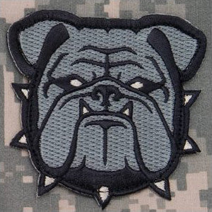 MSM BULLDOG HEAD - LARGE - ACU - Hock Gift Shop | Army Online Store in Singapore