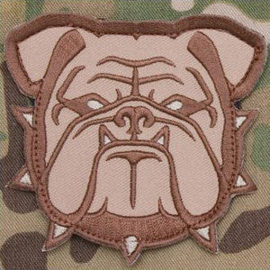 MSM BULLDOG HEAD - LARGE - DESERT - Hock Gift Shop | Army Online Store in Singapore