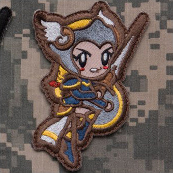 MSM CUTE VALKYRIE - FULL COLOR - Hock Gift Shop | Army Online Store in Singapore