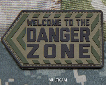 MSM DANGER ZONE PVC - MULTICAM - Hock Gift Shop | Army Online Store in Singapore