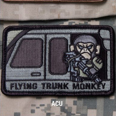 MSM FLYING TRUNK MONKEY - ACU - Hock Gift Shop | Army Online Store in Singapore