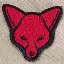MSM FOX HEAD - RED - Hock Gift Shop | Army Online Store in Singapore