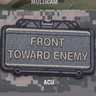 MSM FRONT TOWARD ENEMY - ACU - Hock Gift Shop | Army Online Store in Singapore