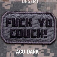MSM FU*K YO COUCH - ACU DARK - Hock Gift Shop | Army Online Store in Singapore