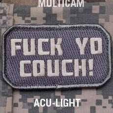 MSM FU*K YO COUCH - ACU LIGHT - Hock Gift Shop | Army Online Store in Singapore