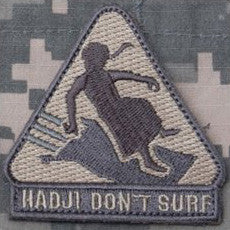 MSM HADJI DON'T SURF - ACU LIGHT - Hock Gift Shop | Army Online Store in Singapore