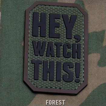 MSM HEY WATCH THIS PVC - FOREST - Hock Gift Shop | Army Online Store in Singapore