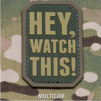 MSM HEY WATCH THIS PVC - MULTICAM - Hock Gift Shop | Army Online Store in Singapore