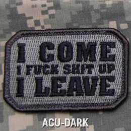 MSM I COME - ACU DARK - Hock Gift Shop | Army Online Store in Singapore