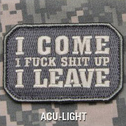 MSM I COME - ACU LIGHT - Hock Gift Shop | Army Online Store in Singapore