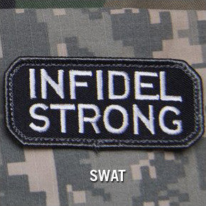 MSM INFIDEL STRONG - SWAT - Hock Gift Shop | Army Online Store in Singapore