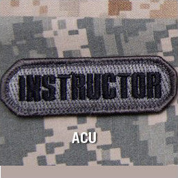 MSM INSTRUCTOR - ACU - Hock Gift Shop | Army Online Store in Singapore