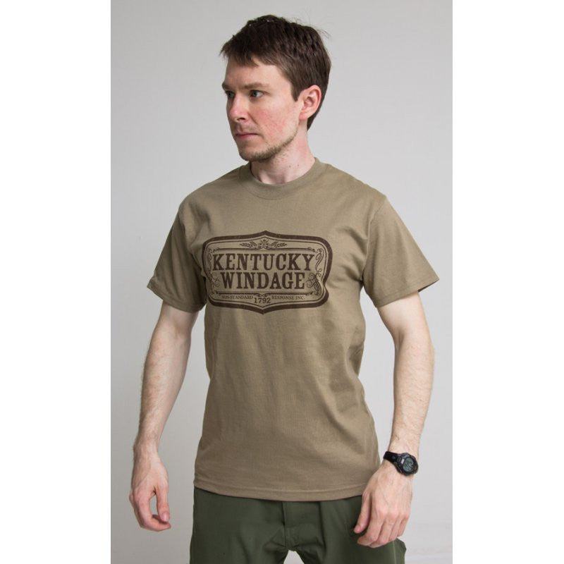 MSM KENTUCKY WINDAGE T-SHIRT - DUSTY BROWN - Hock Gift Shop | Army Online Store in Singapore