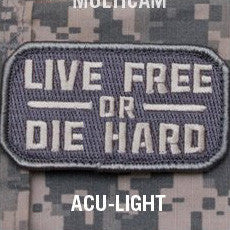 MSM LIVE FREE OR DIE HARD - ACU LIGHT - Hock Gift Shop | Army Online Store in Singapore
