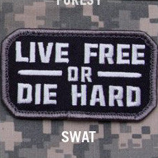 MSM LIVE FREE OR DIE HARD - SWAT - Hock Gift Shop | Army Online Store in Singapore