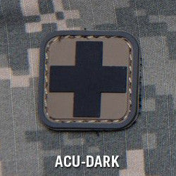 MSM MEDIC SQUARE 1 INCH PVC - ACU DARK - Hock Gift Shop | Army Online Store in Singapore