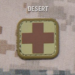 MSM MEDIC SQUARE 1 INCH PVC - DESERT - Hock Gift Shop | Army Online Store in Singapore