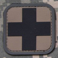 MSM MEDIC SQUARE 2 INCH PVC - ACU DARK - Hock Gift Shop | Army Online Store in Singapore