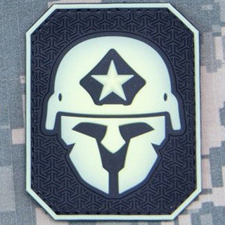 MSM MODERN SPARTAN PVC - LARGE - GLOW IN THE DARK - Hock Gift Shop | Army Online Store in Singapore