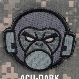 MSM MONKEY HEAD LOGO - ACU DARK - Hock Gift Shop | Army Online Store in Singapore