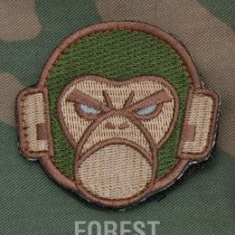 MSM MONKEY HEAD LOGO - FOREST - Hock Gift Shop | Army Online Store in Singapore
