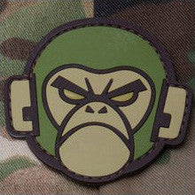 MSM MONKEY HEAD PVC - FOREST - Hock Gift Shop | Army Online Store in Singapore