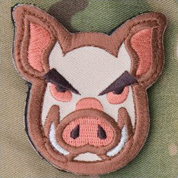 MSM PIG HEAD - FULL COLOR - Hock Gift Shop | Army Online Store in Singapore