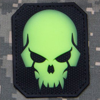 MSM PIRATESKULL LARGE PVC - GLOW IN THE DARK - Hock Gift Shop | Army Online Store in Singapore