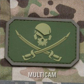 MSM PIRATESKULL PVC - MULTICAM - Hock Gift Shop | Army Online Store in Singapore