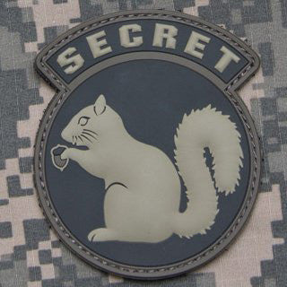 MSM SECRET SQUIRREL PVC - ACU LIGHT - Hock Gift Shop | Army Online Store in Singapore