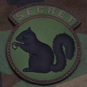 MSM SECRET SQUIRREL PVC - FOREST - Hock Gift Shop | Army Online Store in Singapore