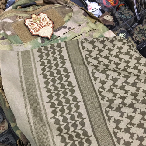 MSM SHEMAGH MULTI-WRAP - DUSTY BROWN - Hock Gift Shop | Army Online Store in Singapore