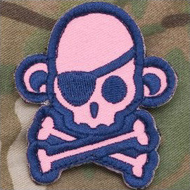 MSM Skullmonkey Pirate - Girly - Hock Gift Shop | Army Online Store in Singapore