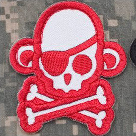MSM Skullmonkey Pirate - White/Red - Hock Gift Shop | Army Online Store in Singapore