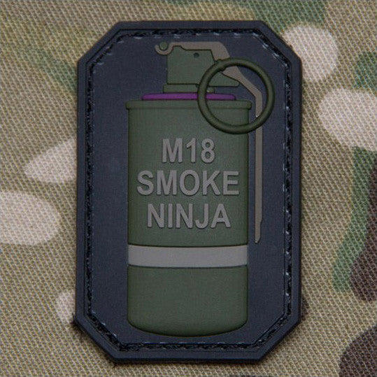 MSM SMOKE NINJA PVC - OD GREEN - Hock Gift Shop | Army Online Store in Singapore