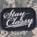 MSM STAY CLASSY PVC - SWAT - Hock Gift Shop | Army Online Store in Singapore