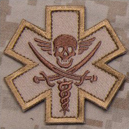 MSM TACTICAL MEDIC - PIRATE - DESERT - Hock Gift Shop | Army Online Store in Singapore