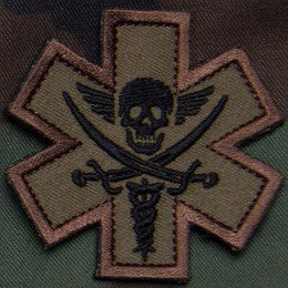 MSM TACTICAL MEDIC - PIRATE - FOREST - Hock Gift Shop | Army Online Store in Singapore